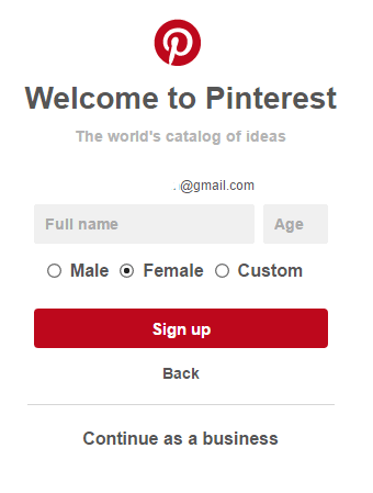 How To Login To Pinterest Account Via Facebook Account Or Google