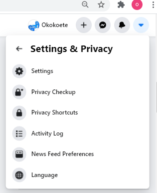 Facebook Privacy and Security Settings