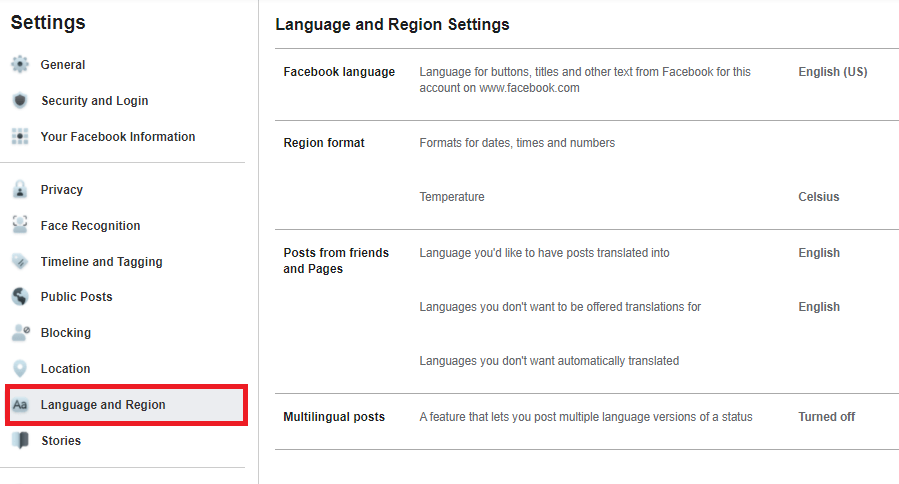 Facebook Language Settings | How to Change Language On Facebook